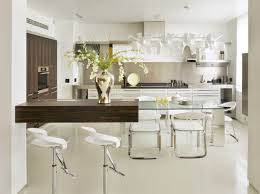 Kitchen Bar Table Ideas by Kitchen Dining Room Kitchen Dining Set In Modern Style Of Glass