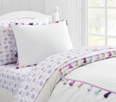 stella tassel duvet cover pottery barn kids feathers for my