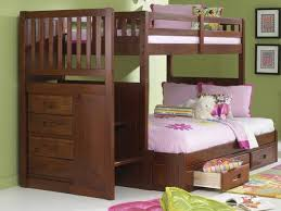 Bunk Beds With Stairs And Storage Bunk Beds With Storage By Custom Furniture