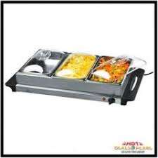 Buffet Server With Warming Tray by Buy Serving Electric Buffet With 2 Warming Trays Online Best