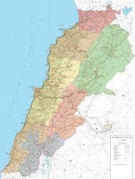 Lebanon World Map by About Lebanon Lebanon