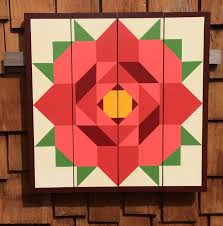 How To Make A Barn Quilt Beautiful Maple Leaf On A Home Pictures Of Mississippi Barn