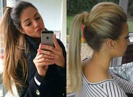 perfectly easy ponytail hairstyles hairdrome com