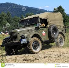 gaz 69 off road army car gaz 69 editorial photography image 64095687