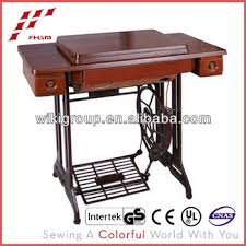used sewing machine cabinet 3 drawer table and stand of household used sewing machine tables