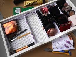 diy makeup storage drawer dividers a beautiful zen