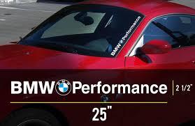 subaru windshield decal product bmw logo performance m3 m5 e34 e36 e39 e46 e60 e70 e90