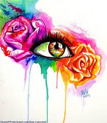 rainbow rose by lucky978 on deviantart
