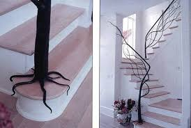 tree modern staircase