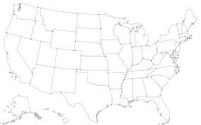 Map Of Usa With Coordinates by Command Line Cartography Part 3 U2013 Mike Bostock U2013 Medium