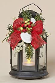 White Metal Christmas Decorations by A Norfolk Florist Exclusive This Traditional Silver Lantern Is