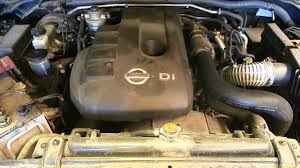 wrecking 2010 nissan navara engine 2 5 diesel turbo yd25 d40