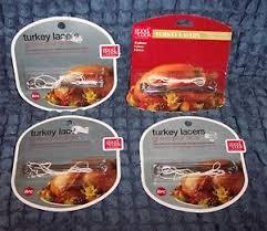 turkey lacers 4 new pkgs cook 8 turkey lacers w lace 32 lacers 4