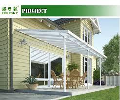 Transparent Patio Roof Freesky Transparent Polycarbonate Garden Gazebo View