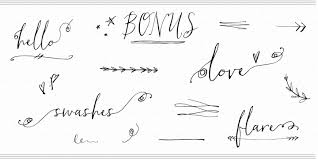 calligraphy font hollyhock a calligraphy font