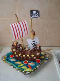 cuisine pirate gâteau bateau pirate photo de cuisine créative version sucré