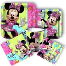 Party City Minnie Mouse Decorations Baby Minnie Mouse 1st Birthday Table Decorating Kit Disney