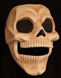 Skeleton Mask Red Death Skull Mask Movable Jaw Phantom Of The Opera