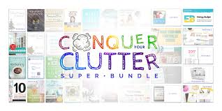 Clutter Conquer Your Clutter Bundle