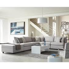 Coaster Sectional Sofa Living Charlotte 551221 Grey Modular Sectional Sofa