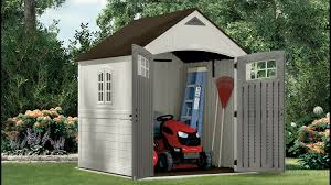Craftsman Vertical Storage Shed 322 Cu Ft Cascade 7 X 7 Storage Shed Suncast Corporation