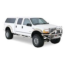 Ford F250 Truck Bed Accessories - bushwacker ford f 250 super duty 2008 cut out fender flares