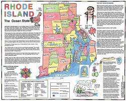 Rhode Island On Map Rhode Island Map Maps For The Classroom