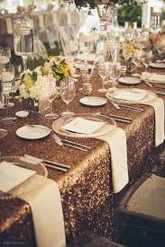 Wedding Table Linens Best 25 Gold Tablecloth Ideas On Pinterest Gold Glitter