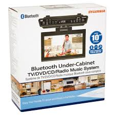 under kitchen cabinet cd player coffee table sylvania under counter bluetooth kitchen with