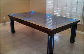Pool Table Top For Dining Table Table Top Dining Room Pool Tables
