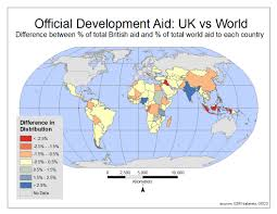 what country makes tracking international development