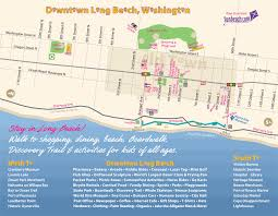 Map Of Vancouver Washington by Downtown Long Beach City Of Long Beach Washington