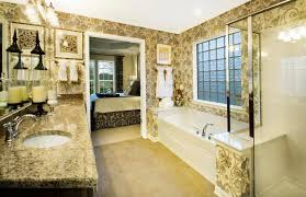 Devonshire Kohler Faucet Traditional Master Bathroom With Interior Wallpaper U0026 Simple