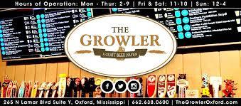 Blind Pig Oxford Ms Menu The Growler 11 Reviews American Traditional 265 N Lamar