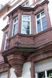 konsole architektur mainz die westliche altstadt um schillerplatz und stefanskirche