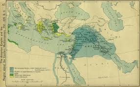 Ancient Map Of Middle East by Map Of The Assyrian Empire 750 625 Bc