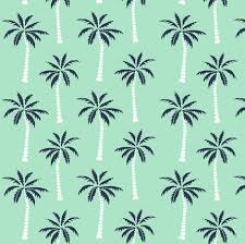 palm tree mint and navy palms fabric andrea design palm