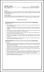 Examples For Resume Objectives by Nursing Resume Objective Examples