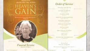 Make Funeral Programs 100 How To Make Funeral Programs The Funeral Program Site