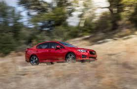 red subaru sedan 2017 subaru impreza reviews and rating motor trend