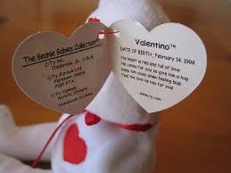 ty valentino ty valentino beanie baby hang tag jessicagreen0202 flickr