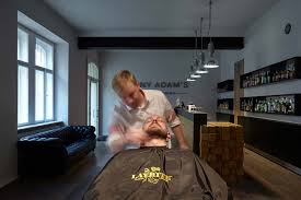 Latest Barber Shop Interior Design Have A Shave And A Drink In This Cool Barbershop In Prague