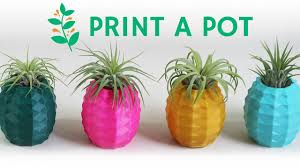 print a pot custom and unique 3d printed pots and planters youtube