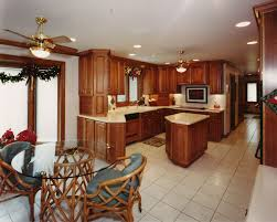 kitchen small kitchen design with elegan pendant lamp and marmer