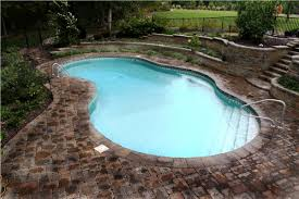 Backyard Pool Sizes by Swimming Pool Sizes And Shapes U2014 Home Landscapings Swimming Pool