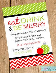 Christmas Invitation Cards Template Family Christmas Dinner Invitation Wording And Template With Nice