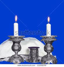 yehuda shabbos candles shabbos stock images royalty free images vectors