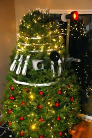 themed christmas trees no tardis tree topper dalek themed christmas tree geekologie