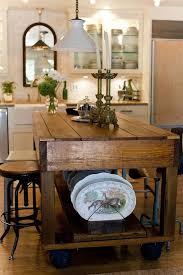 Kitchen Table Islands Best 25 Rolling Kitchen Island Ideas On Pinterest Rolling