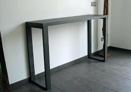 tall black console table narrow black console table small tall ikea uk thin launchwith